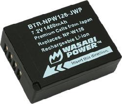 WASABI POWER BTR-NPW126-JWP-001 - Batterie (Noir)