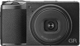 RICOH GR III - Kompaktkamera Schwarz