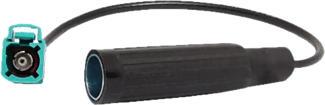 RTA 206.024-0 - Adaptateur AM/FM (Noir/Bleu)