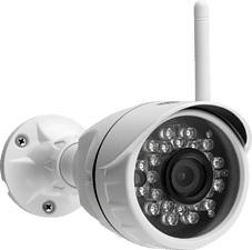 CALIBER HWC401 - Telecamera di sicurezza (Full-HD, 1.920 x 1.080 pixel)