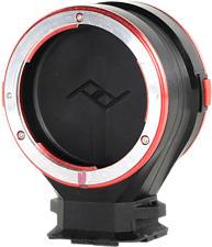 PEAK DESIGN Capture Lens Canon EF - Adattatore per la cattura (Nero/Argento/Rosso)
