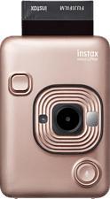 FUJIFILM instax mini LiPlay - Fotocamera istantanea Arrossire d'oro