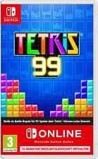 Switch - Tetris 99 + 1 Jahr Nintendo Switch Online Einzelmitgliedschaft /D