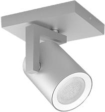 PHILIPS Hue White and Color Ambiance Argenta - Plafonnier spot / applique murale spot (Aluminium)
