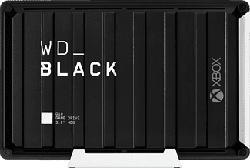 WESTERN DIGITAL WD_BLACK D10 Game Drive per Xbox One - Disco rigido (Nero/Bianco)