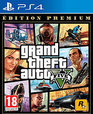 PS4 - Grand Theft Auto V : Édition Premium /F