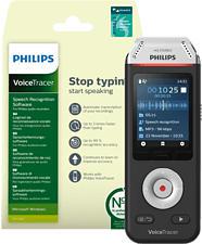 PHILIPS VoiceTracer DVT2810 - Aufnahmegerät (Schwarz/Chrom)