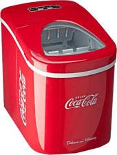 SALCO SEB-14CC Coca-Cola - Eiswürfelmaschine (Rot)