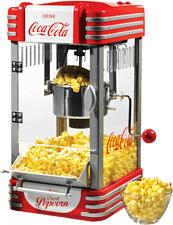 SALCO SNP27CC Coca-Cola - Popcornmaschine (Rot/Weiss)