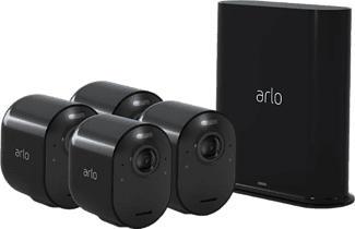 ARLO Ultra - Caméra de sécurité (UHD 4K, 3.840 x 2.160 Pixel)