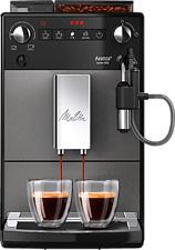 MELITTA Serie 600 - Machine à café automatique (Noir/Acier inoxydable)