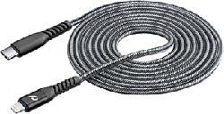 CELLULAR LINE Extreme Cable XL - Câble de données/ recharge (Noir)