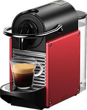 DE-LONGHI Pixie EN 124.R - Machine à café Nespresso® (Rouge)