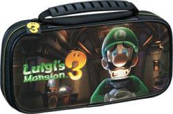 BIG BEN Travel Case Luigi's Mansion 3 für Nintendo Switch Lite - Hartschalentasche (Schwarz)