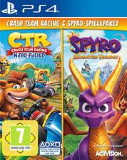PS4 - Crash Team Racing & Spyro-Spielepaket /D