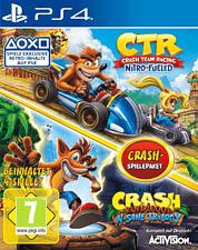 PS4 - Crash Team Racing Nitro Fueled + Crash Bandicoot N. Sane Trilogy Spielepaket /D