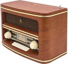 GPO Winchester - Radio numérique (Marron)