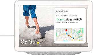 GOOGLE Nest Hub - Smart-Home-Steuerung (Hellgrau)