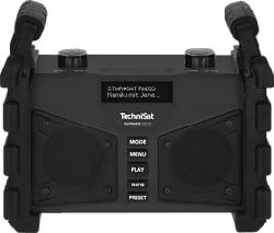 TECHNISAT DIGITRADIO 230 OD - Radio numérique (DAB, DAB+, FM, Noir)