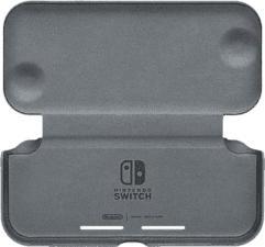 NINTENDO Flip Cover & Screen Film - Flip Cover + Protecteur d'écran pour Nintendo Switch Lite (Noir)