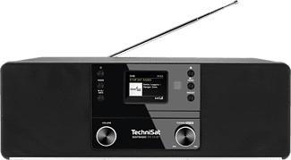 TECHNISAT 370 CD BT - Digitalradio (DAB+, FM, Schwarz)