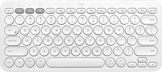 LOGITECH K380 Multidispositivo (Qwertz) Svizzero - Tastiera Bluetooth (Bianco)