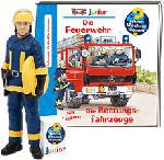 MediaMarkt TONIES Wieso? Weshalb? Warum? junior - Die Feuerwehr/Die Rettungsfahrzeuge - Figure audio /D (Multicolore)