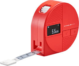 PIE Smart Tape Measure - Ruban à mesurer corporel (Rouge/Blanc)