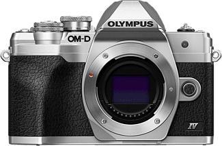 OLYMPUS OM-D E-M10 Mark IV Body - Appareil photo à objectif interchangeable (Résolution photo effective: 20.3 MP) Argent