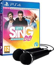 PS4 - Let's Sing 2021 mit deutschen Hits (+ 2 Mics) /D