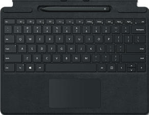 MICROSOFT Surface Pro X Signature Keyboard + Slim Pen - Tastatur und Digital-Pen (Schwarz)