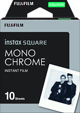 FUJIFILM Instax Square 10Bl Monochrome - Instant Film (Schwarz/Weiss)