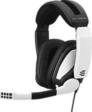 EPOS SENNHEISER GSP 301 - Gaming Headset (Schwarz/Weiss)
