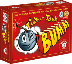 PIATNIK Tick Tack Bumm - Jeu de société (Multicolore)