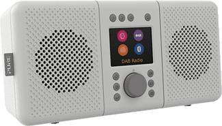 PURE DIGITAL Elan Connect+ - Internetradio (DAB, DAB+, FM, Internet radio, Hellgrau)