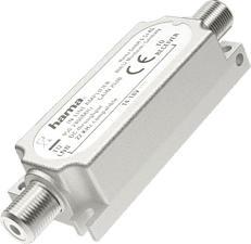 HAMA 205233 INLINE AMPLIFIER - Amplificateur en ligne SAT (Argent)