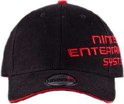 DIFUZED Nintendo: NES Logo - Kappe (Schwarz)