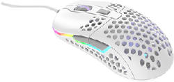XTRFY M42 RGB - Gaming Mouse (Bianco/Grigio)