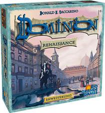 RIO GRANDE GAMES Dominion: Renaissance (Add-On) - Gioco da tavolo (Multicolore)