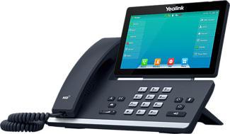 YEALINK SIP-T57W - IP-Telefone (Schwarz)