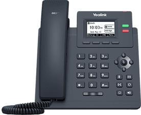 YEALINK SIP-T31P - IP-Telefone (Schwarz)