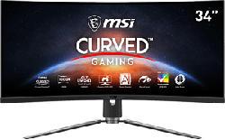 """MSI MPG ARTYMIS 343CQRDE - Gaming monitor (34 """", UWQHD, 165 Hz, Nero)"""