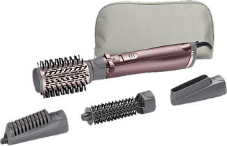 BABYLISS AS960E Beliss Big Hair 1000 - Warmluftbürste (Rosa/Schwarz)