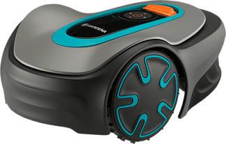 GARDENA Sileno Minimo 500 - Rasenmäher Roboter (Max. Flächenleistung: 500 m², Grau)
