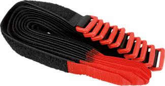 VELCRO 1010000333002 - Attaches de câble (Noir/Rouge)