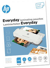 HP Everyday A4, 80 Mic. Small Pack (25 Stk.) - Laminierfolien