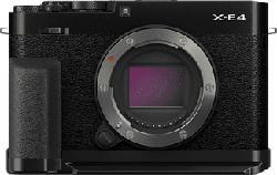 FUJIFILM X-E4 Body + Daumenauflage TR-XE4 + Handgriff MHG-XE4 - Systemkamera (Fotoauflösung: 26.1 MP) Schwarz