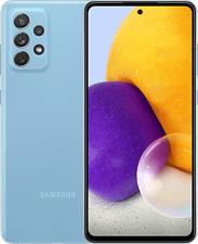 """SAMSUNG Galaxy A72 4G - Smartphone (6.7 """", 128 GB, Awesome Blue)"""