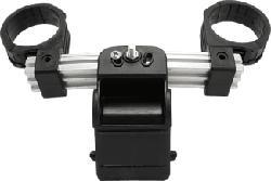 TRIAX 300819 Flexiblock 3-10 - Doppelfeedhalter (Aluminium/Schwarz)