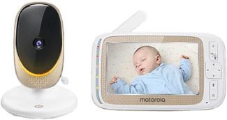 MOTOROLA Comfort 60 Connect - Babyphone (Gold/Weiss)
